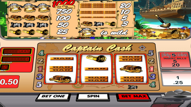 Captain Cash by Betsoft 3