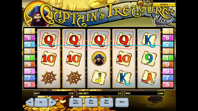 Captain's Treasure 4