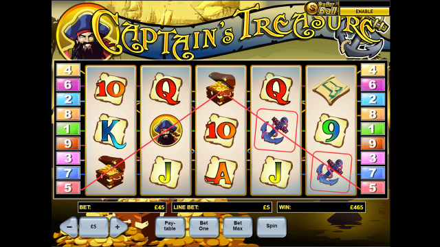 Captain's Treasure 9