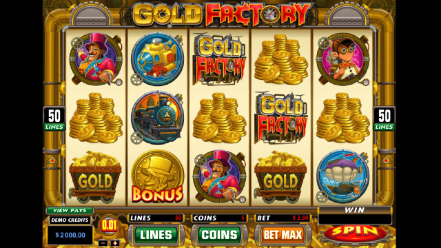 Gold Factory 1