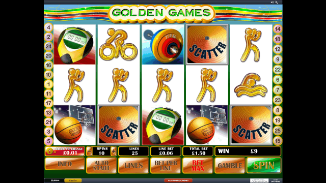 Golden Games 9