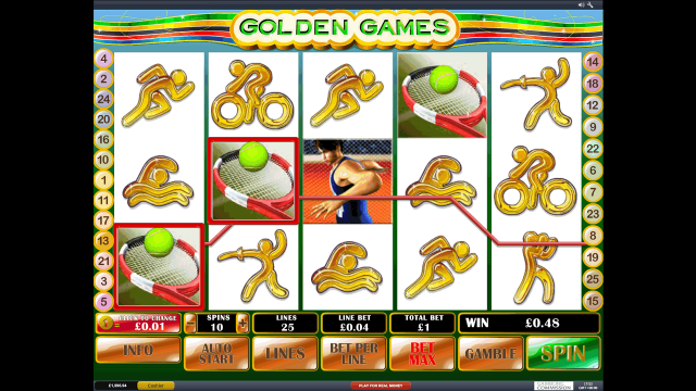 Golden Games 8
