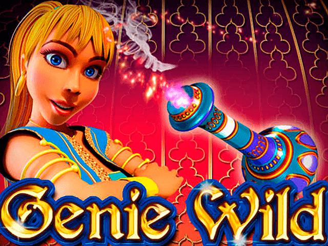 Genie Wild от Microgaming с большими бонусами