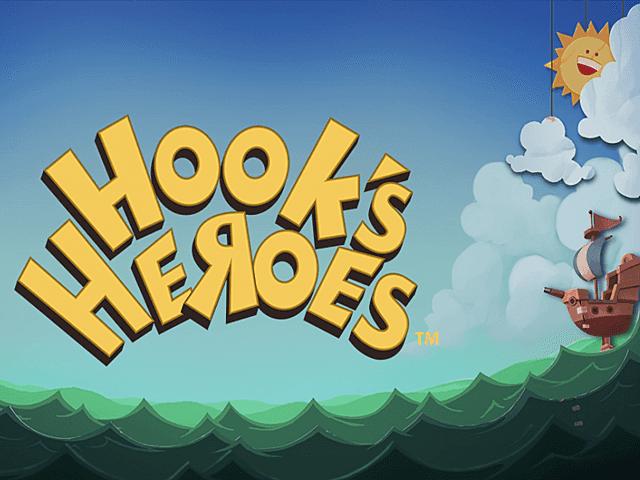 Видео-слот Hooks Heroes от NetEnt в игровом клубе